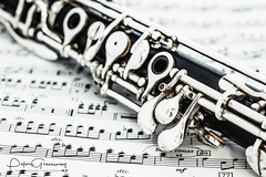 Woodwind Musical Instrument Closeup - The Keys Of A Base Clarinet (Peter Greenway) Tags: clarinet reedinstrument musicalinstruments flickr petergreenway woodwindinstrument doublereed woodwind bcb instrument