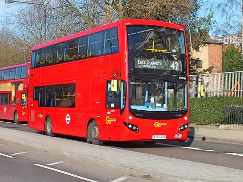 Go Ahead London Central - MHV59 - BV66VKK