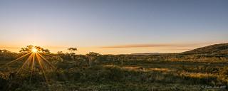 Sunset at Retakunna Hut