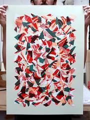 (- Amose -) Tags: collage screenprint serigraphie amose screenprinting