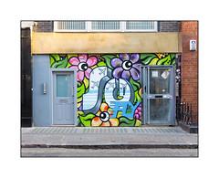 Street Art (Artista & Sophy Nails), West London, England. (Joseph O'Malley64) Tags: artista sophynails streetartists streetart urbanart publicart freeart graffiti westlondon london england uk britain british greatbritain art artists artistry artwork mural muralists wallmural wall walls