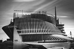 Gamble (s.W.s.) Tags: city clouds urban architecture abstract building blackandwhite montreal casino neutraldensity longexposure nikon d3300 lightroom quebec canada