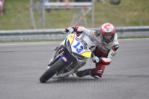 Jacopo Facco in World Supersport 300 at Donington Park, May 2017