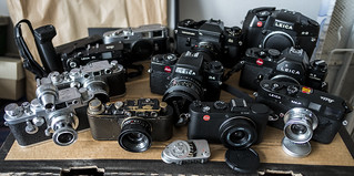 Bunch of Leica's