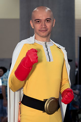 PHXCC 2017 - Friday_2474 (Florentino Luna) Tags: phoenix arizona usa comicon comic comics canon t5 50mm 50 mm ii mkii convention center dtphx phxcc 2017 pcc cosplay costumes people portrait portraits anime one punch man opm full cto gel phoenixcomicon canont5 1200d