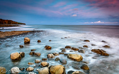 Llantwit Beach 2 (minar5) Tags: movement seascape beach longexpossure seascapes sunset wales heritage coast coastal