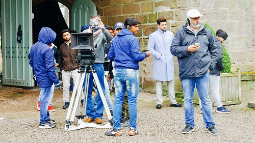 Bollywood movie on location