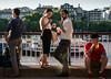 South Bank (jonron239) Tags: men woman boy girl sunset drinking london beard trainers thongs sandals brogues camisole
