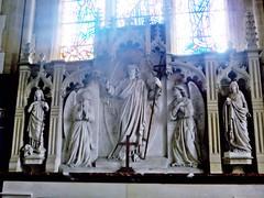 Burgh St Margaret, Fleggburgh Norfolk (jmc4 - Church Explorer) Tags: burgh church norfolk reredos carving