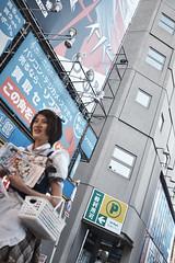 Akihabara _43 (Kinbachou48) Tags: akihabara tokio fujifilmx100s donquijote shopping byn maid idol akb48 tokiotower 東京都 秋葉原 ドン キホーテ メイド