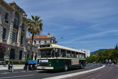 Saviem SC10 L - 21/05/2017 (Vincent Steine) Tags: bus nice tca old school france french riviera côte dazur sc10l saviem