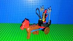 Dragon Knights 1794 Dragon Master Chariot (Mana Montana) Tags: lego dragonknights castle classic retro 90s dragon wizard minifigure 1794 dragonmasterchariot knight polearm battle