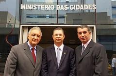 prefeito Rio das Ostras Ministério das cidades