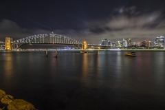 Sydney Harbour (S♡C) Tags: sydney sydneyharbour sydneyharbourbridge skyline clouds