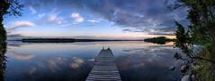 Midsummer is already near (Kari Siren) Tags: pier lake summer karijarvi jaala finland