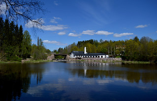 Vantaankoski /  River Vantaanjoki in Spring / Finland
