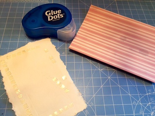 using glue dots