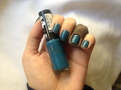 Ruby (Hits Speciallità) (Daniela nailwear) Tags: ruby hits speciallità popupstore azul shimmer esmaltes mãofeita