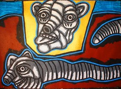 DSC00052 (totem3xperu) Tags: outsiderart marginalart expressionismus surrealism popsurreal kunst kunstler art arte peru mask shaman cuzco paracas nazca neofigurative peinture painting jcastillabambaren jorgecastillabambaren jcb kunstwerk