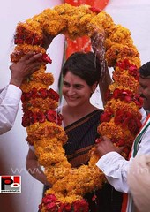 PRIYANKA  GANDHI (J P Agarwal ww.jaiprakashagarwal.com New Delhi Ind) Tags: indira gandhi rajiv sonia rahul