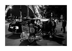 Paris all destinations (Franco & Lia (on/off)) Tags: street photographiederue fotografiadistrada paris parigi france francia toureiffel notte night nuit biancoenero noiretblanc blackandwhite 2485f284 stphotographia
