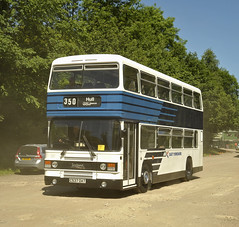 C537DAT East Yorkshire 537 (martin 65) Tags: public preserved preservation peak park road rally rowsley derbyshire gathering 2017 18617 transport bus buses vehicle vintage leyland olympian stagecoach leopard bristol red warrington yorkshire east lincolnshire