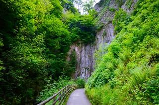 Walkway to Peak Cavern
