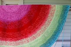 2017.06.04. matto halk. nyt 175 cm 3101m (villanne123) Tags: 2017 progressing villanne virkattua virkattu virkattumatto crochet crocheting crochetrug matto rug teeteeapollo schachenmayrjourney
