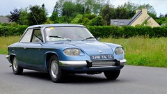 Panhard CT24 (claude 22) Tags: tourdebretagne abva 2017 rallye old vintage classic vehicule 2roues collection brittany finistère france vehicles cars automobiles classiques fuji fujifim xt1 18135mm panhard ct24 tourdebretagneabva tourdebretagne2017 claude22 claudelacourarie