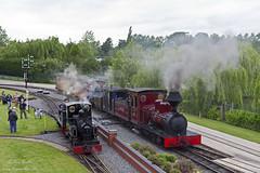 Fiji & Marchlyn (TimEaster) Tags: statfoldbarnrailway statfold narrowgauge steam train polephotography pole fiji marchlyn hudswellclarke