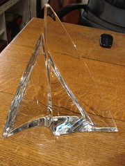 "BACCARAT CRYSTAL ""ALIZEE"" SAILBOAT, SIGNED. • <a style=""font-size:0.8em;"" href=""http://www.flickr.com/photos/51721355@N02/35182893092/"" target=""_blank"">View on Flickr</a>"
