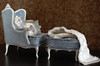 "Set ""Antoinette"" 1: 4 chair, ottoman, pillows LE 8 №3 (JuliaGart) Tags: furniture for furniturefordolls furnitureforthesybarite order pouf pillow scale 14 chair julia juliagart gartung numina kd"