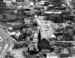 Hello Day, 1971 - Aerial View (Salem State Archives) Tags: salem massachusetts helloday hawthorne burgy zoll keegan salemstate aerial charter central derby