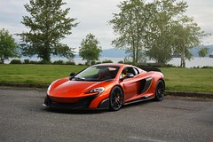 LT Spider (SupercarsofBC) Tags: mclaren 675 lt 675lt longtail spider volcano orange cars coffee weissach spanish banks vancouver british columbia canada 2017 sbc
