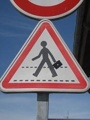 IMG_0419 (emilyD98) Tags: maroc petit street art st nazaire insolite chantier naval port signalisation sticker autocollant espadon sous marin saint urban exploration city ville