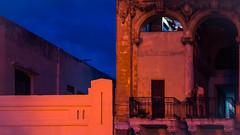 Havana by Night (I saw_that) Tags: havana cuba night paseomarti balcony orange blue 240700mmf28 nikon d4s cubano nightphotography eye i diagonals verticals horizontals hss uncool uncool2 uncool3 uncool4 cool uncool5 uncool6 uncool7