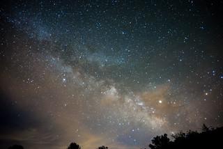 Vía Láctea en Andilla