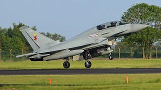 ZK79/EB-B TYPHOON  41sqn RAF