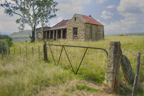 Sand Stone Farm House, Fouriesburg District, Eastern Free State _5322