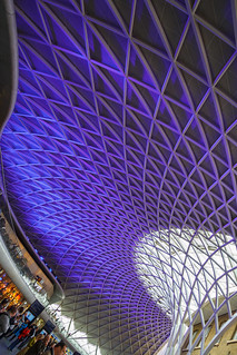 Kings Cross station concourse, London