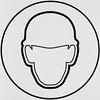HARD HAT SYSTEM (Leo Reynolds) Tags: xleol30x squaredcircle panasonic lumix fz1000 sign signsafety signinformation sqset138 hardhat hard hat helmet head protection xx2017xx
