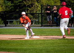 NYSPHSAA 2017 Section 7 Class B Championship (Cirdon) Tags: championship sunny sectionvii phs baseball plattsburgh plattsburghhighschool newyork outdoor saranac sectionals ny 2017 nysphsaa fieldhouse firstbase spring sunyplattsburgh classb chipcummingsfield highschool sports playoffs sunyac locations ncaa league