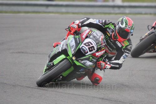 Tom Sykes in World Superbikes at Donington Park, May 2017