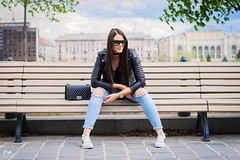 (PinkPetra) Tags: budapest vargaviki portré portrait portraitphotography portraiture fashion fashionphoto fashionphotography fashionmodel street streetfashion streetphotography streetstyle streetlook outfit sunglasses denim farmer black blue leather jacket cool adidas 85mm canon choker watch