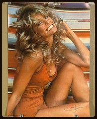 My favorite Farrah poster (lincoln6267) Tags: farrah fawcett poster 1970 1970s 70s seventies vintage sexy hair icon women breasts nipples swimsuit blonde sex tan tanned beautiful vagina legs charlies angels tits bush cunt gorgeous lady classic bomb shell bombshell white teeth beauty woman swim suit orange