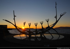 Sólfar, Reykjavik, Iceland (JH_1982) Tags: sólfar solfar the sun voyager sculpture jón gunnar árnason boat sæbrau dreamboat silhouette silhouettes red yellow orange glow sunset ocaso sonnenuntergang coucherdesoleil pôrdosol tramonto закат zonsondergang zachódsłońca solnedgång solnedgang auringonlasku apus залез matahariterbenam mặttrờilặn 日落 日没 evening light reykjavík reykjavik reikiavik 雷克雅維克 レイキャヴィーク 레이캬비크 рейкьявик रेक्जाविक ريكيافيك iceland ísland island islandia islande islanda islândia 冰岛 アイスランド 아이슬란드 исландия आइसलैण्ड آيسلندا statue steel modern art artwork abend landmark