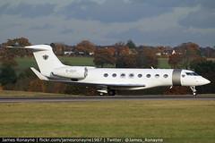 G-GSVI | Gulfstream G650 | Executive Jet Charter (james.ronayne) Tags: ggsvi gulfstream g650 executive jet charter gvi gulf gulfy g6 james dyson
