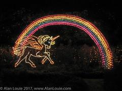 20031220 Bellingrath Xmas 0007 Rainbow Unicorn.jpg (Alan Louie - www.alanlouie.com) Tags: bellingrath christmas alabama theodore unitedstates us