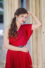 Merce (Nuriartica) Tags: woman beauty beautiful mujer rojo red belleza pasion pelazo pelo largo nuria nieto merce hernan nuriartica ciudad real