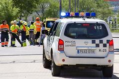 Nissan Pathfinder. Policia Local Las Rozas (juanemergencias) Tags: madrid policia police españa spain policialocal policiaespañola spanishpolice bluelight bluelights lucesazules lasrozas policialocallasrozas coche car vehiculo vehicle 4x4 suv nissan nissanpathfinder pathfinder